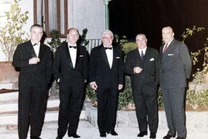 Serata di Gala al Club Nautico di Gaeta. 1965 circa