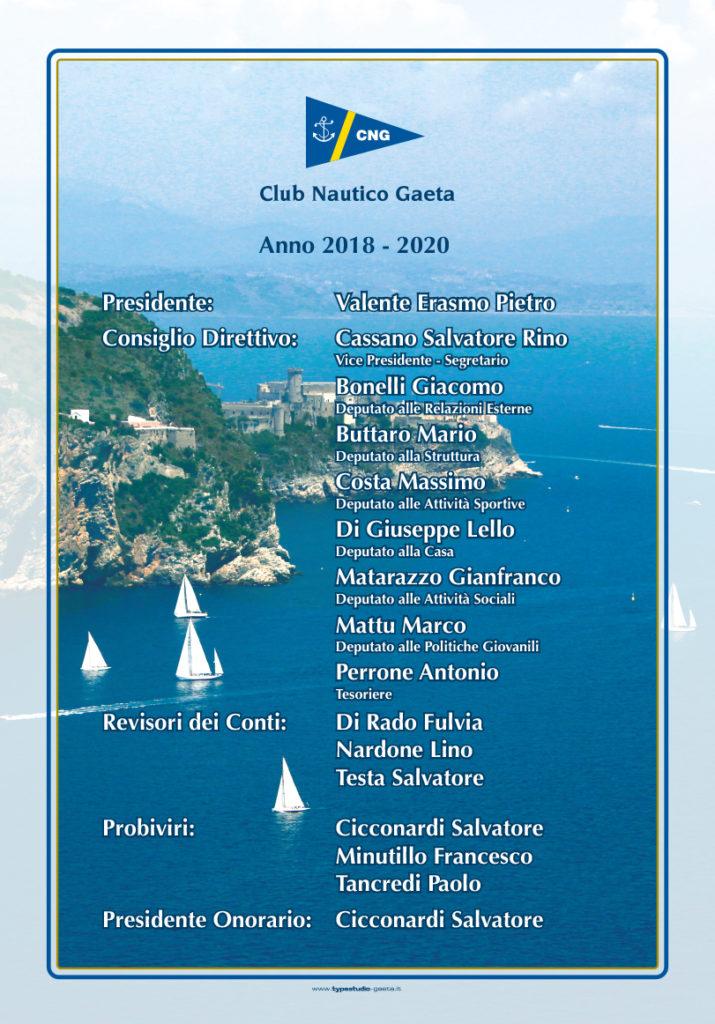 organigramma club nautico 2018_2020